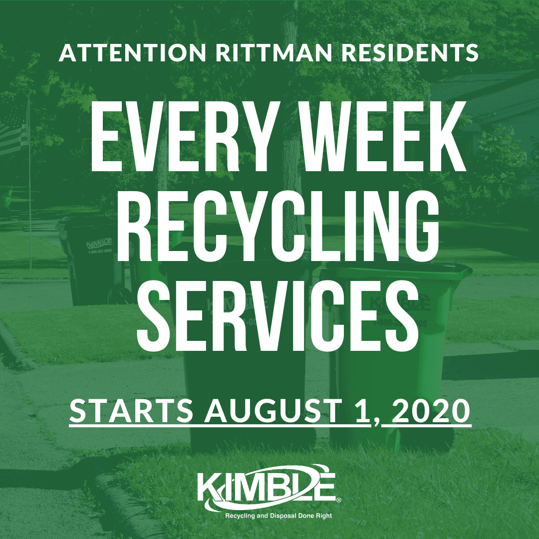 Kimble  Every Week Recycle